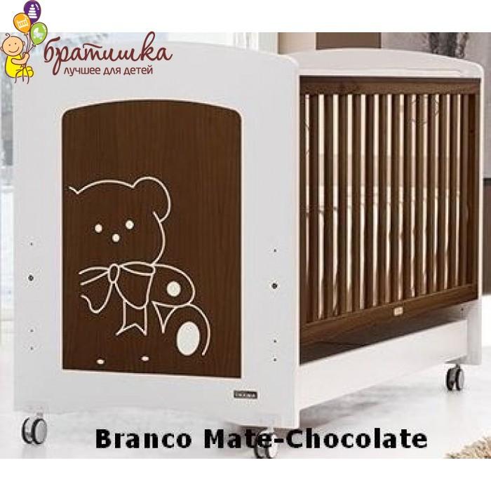 Trama Kiaro, цвет Branco Mate-Chocolate