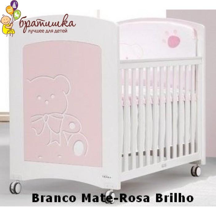 Trama Kiaro, цвет  Branco Mate-Rosa Brilho