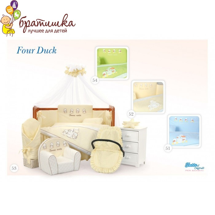 Tuttolina Per Bambini, цвет Four Duck 51-54