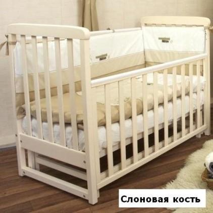 Детская кроватка Верес Соня ЛД12 с маятником