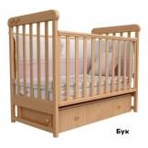 Детская кроватка Верес Соня ЛД12 с маятником и ящиком