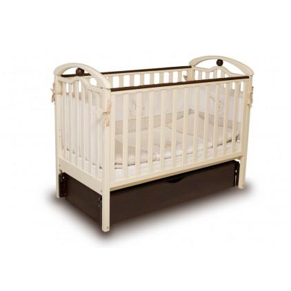 Детская кроватка Верес Соня ЛД5 с маятником и ящиком