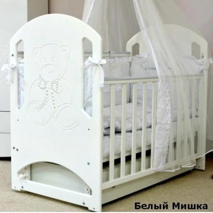Детская кроватка Верес Соня ЛД8 с маятником