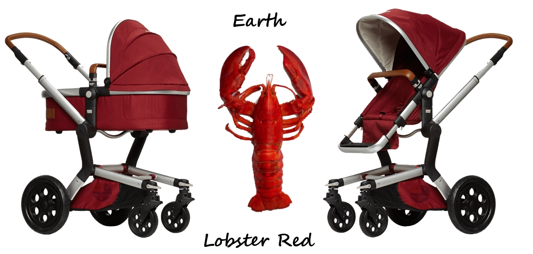 Joolz Day Earth Collection Lobster Red